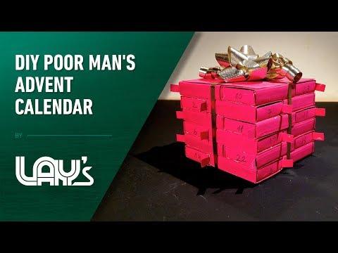 2 DIY Poor Man's Advent Calendar
