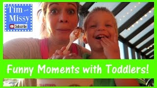 MOMMY, PLEASE WIPE ME?? | Funny Toddler Potty Training Moments | Tim and Missy