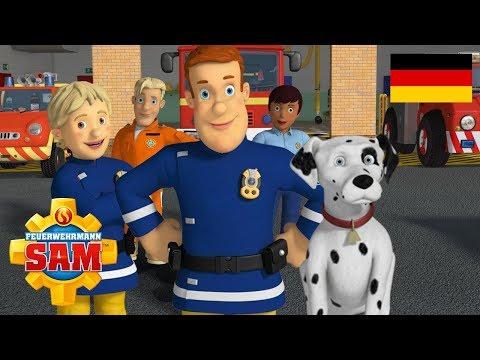 Feuerwehrmann Sam Deutsch Neue Folgen   Feuerwehrmann Hund - Hundetag   Zeichentrickserie für kinder