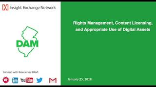 Rights Management Content Licensing and Appropriate Use of Digital Assets
