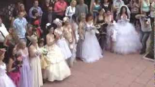 Парад невест в Golden Palace г.Северодонецк 2012 год.