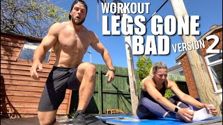 ULTIMATE HOME LEG CROSSFIT® WORKOUT - No Equipment Needed