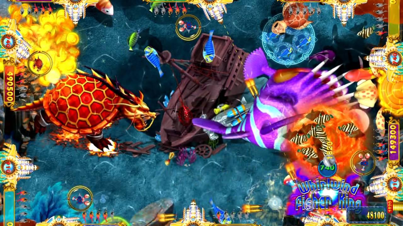 Dragon strike skilled fish hunting video arcade game for Fish game machine