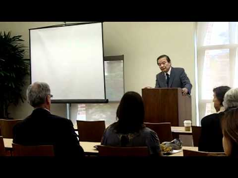 President of Ming Chuan University in Taiwan Delivers Lecture at USC Rossier