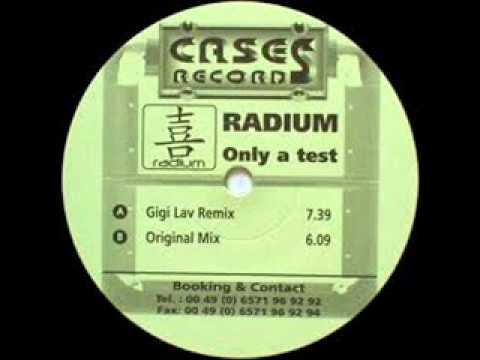 Radium   only a test
