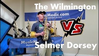The Wilmington Alto vs a Dorsey Saxophone with Musician Max Snyder