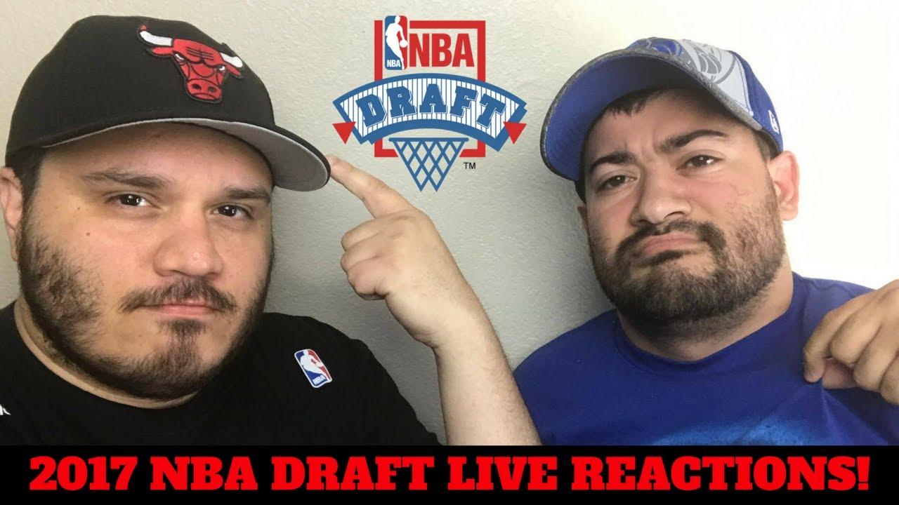 2017 NBA DRAFT LIVE REACTIONS! - YouTube