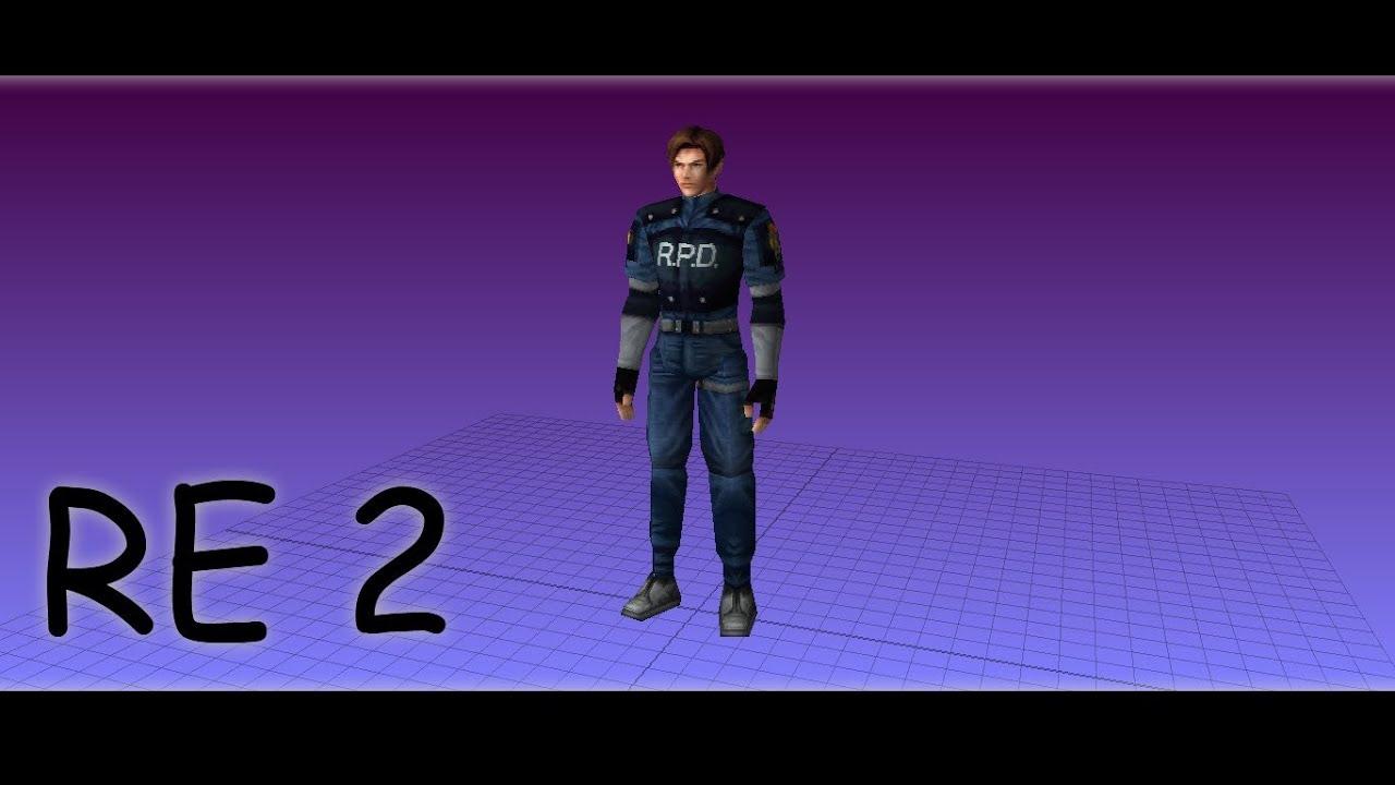 Resident Evil Umbrella Chrnicles Subway Map 3d Model.How To Model A Resident Evil 2 Model In Blender By Juvenal Da Corte