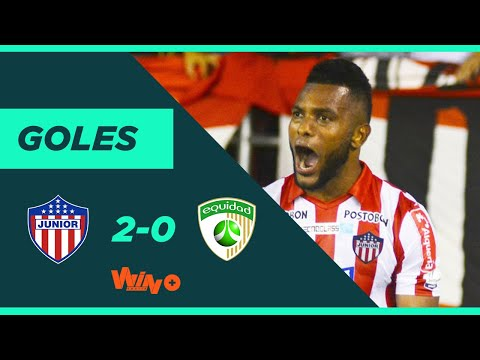 Junior vs. La Equidad (2-0) Liga BetPlay Dimayor 2020-1 | Fecha 1