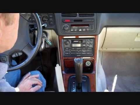 acura legend stereo removal 1991 1996 youtube