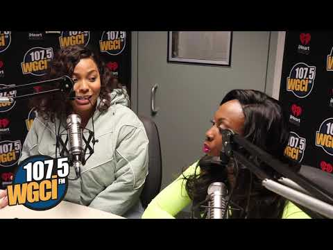 The WGCI Morning Show - The Morning Show Talks With Charmaine About The N Word