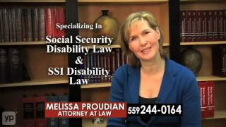 Melissa Proudian Lawyer Fresno CA Social Security Disability
