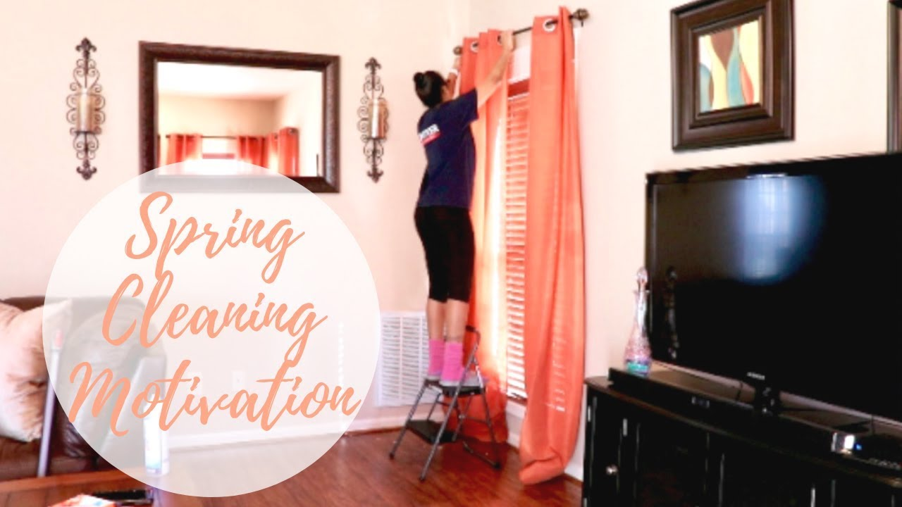 Clean With Me 2019 Spring Cleaning Motivation Living Room Detailed Deep Clean Home Inspiration