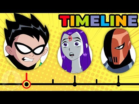 The Complete Teen Titans Timeline | Channel Frederator
