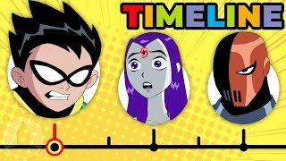 Download The Complete Teen Titans Timeline   Channel Frederator Mp3 and Videos
