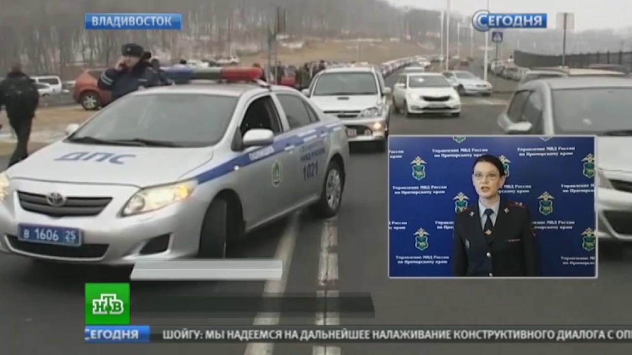 Авария во Владивостоке, на острове Русский! Автоледи рассказала, почему она сбила людей на зебре!