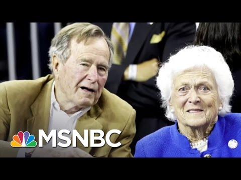 George H.W. Bush, Barbara Bush Remain Hospitalized | Morning Joe | MSNBC