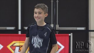 Point guard (c/o 2026) Ayden Ambrose in The Dunk League Video