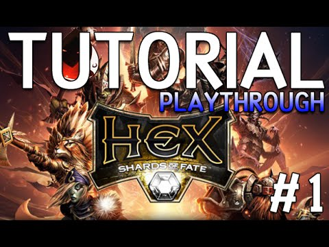 HEX Shards of Fate - Playthrough #1 | The Tutorial | RipX