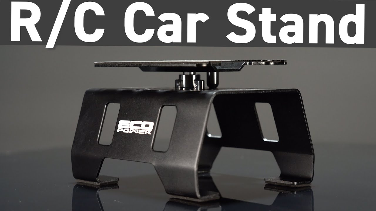 Arguably, the Best R/C Car Stand Ever Made - The EcoPower Aluminum Rotating Car Stand