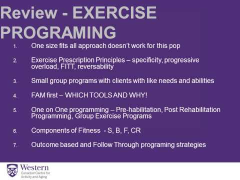 Exercise Recommendations For Long-Term Care (Fall Prevention)