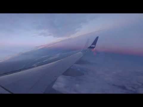 Flying over Norrbottens Län