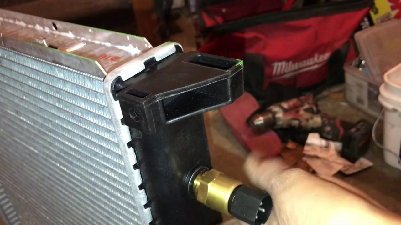 Bmw z3 radiator replacement