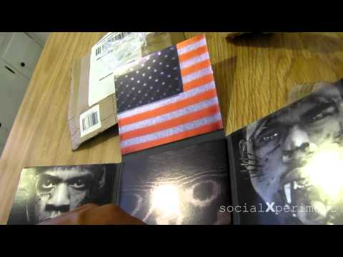 socialXperiment: Vlogg #10: Watch The Throne Unboxing
