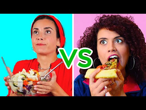 THERE ARE TWO TYPES OF GIRLS || Best Funny Situations by 123 GO!