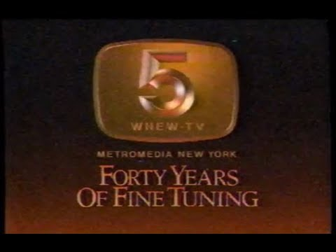 """1984 - WNEW TV 5  """"Forty Years of Fine Tuning"""" - Special"""