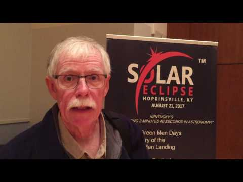 Mr. Eclipse explains significance of Hopkinsville, KY in 2017 Great American Eclipse
