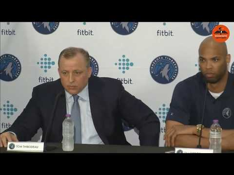 Wolves introduce free-agent signings Jeff Teague & Taj Gibson