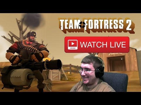Spooky Bumper Cars, Spooky Cosmetics, & Spooky Contracts! (TF2 Stream 11/12/16)