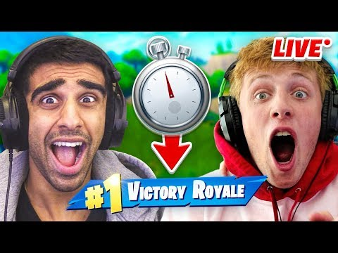 FORTNITE with W2S UNTIL WE WIN...