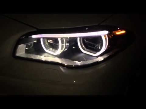 2014 bmw 528i sport safety package led headlights youtube. Black Bedroom Furniture Sets. Home Design Ideas