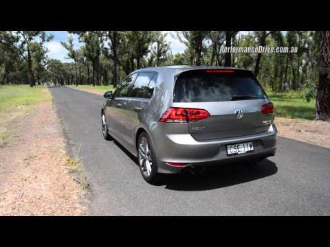 2015 Volkswagen Golf 110TDI R-Line 0-100km/h & engine sound