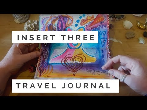 Insert 3 of Latin America Midori  travel journal- COMPLETED!