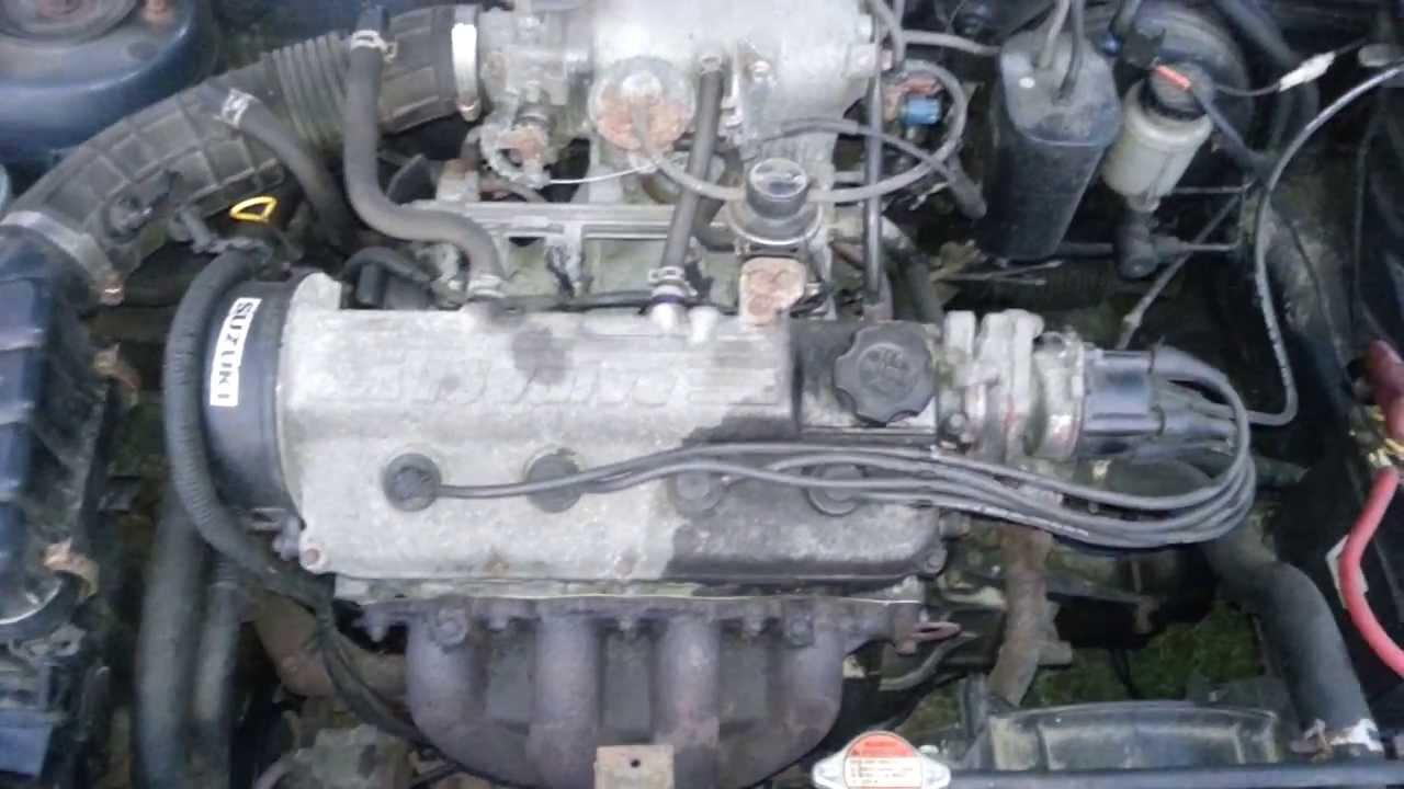 Suzuki Baleno 1.6 98 PS Motor - YouTube