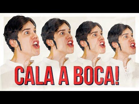 Turma Da Lacração, CALA A BOCA! - CLIPE OFICIAL - MrPoladoful (Eu não to depressivo)