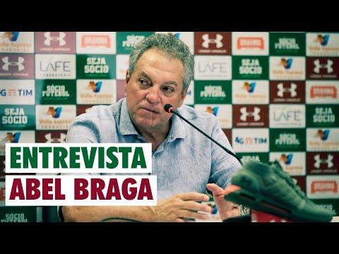FluTV - Fluminense 1 x 0 Cruzeiro - Coletiva - Abel Braga