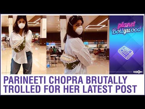 Parineeti Chopra Gets Brutally TROLLED For Her Latest Photoshoot On Coronavirus Awareness