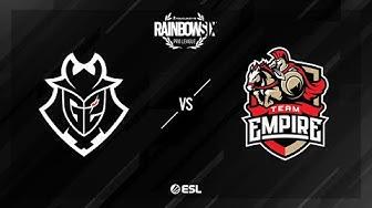 G2 Esports vs. Team Empire - Coastline - Rainbow Six Pro League - Season XI - EU