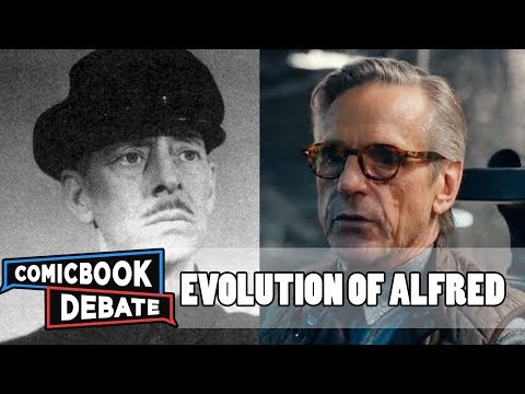 Evolution of Alfred in Movies & TV in 9 Minutes 2018