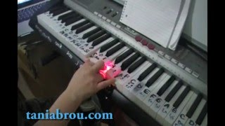 como tocar reggae en piano facil tutorial