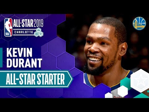 Kevin Durant 2019 All-Star Starter | 2018-19 NBA Season