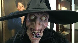 Scary Witch Laugh Music Prank Sounds Scream Halloween Snow White Evil Queen Graveyard RIP