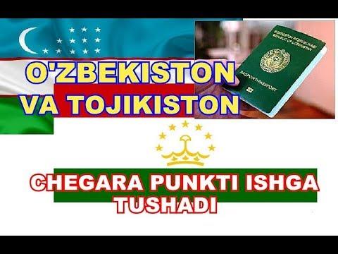 O'ZBEKISTON VA TOJIKISTON CHEGARA PUNKTLARIDAN BIRI ISHGA TUSHURILADI