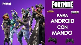 How to play Fortnite Pubg Freefire on android with usb controller or control