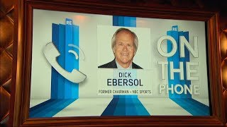 Former NBC Sports Chairman Dick Ebersol Remembers Dick Enberg & More   Full Interview