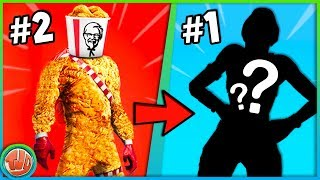 10 WORST/UGLIEST SKIN CONCEPTS EVER!! -Fortnite: Battle Royale